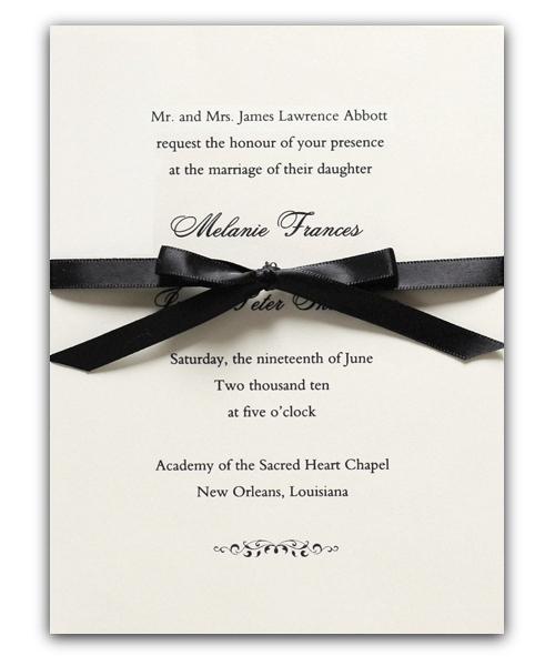 wedding invitations vera wang stationery in ireland inkprettyie - A Wedding Invitation