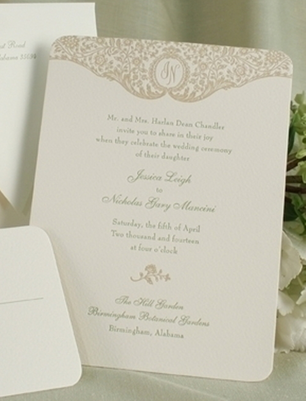 Wedding Invitations Ireland & Wedding Stationery - Floral Trellis ...