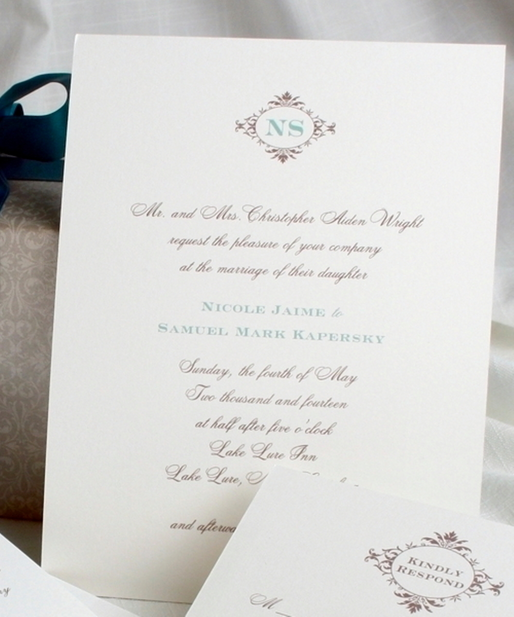 Wedding Invitations Ireland & Wedding Stationery - Classic White ...