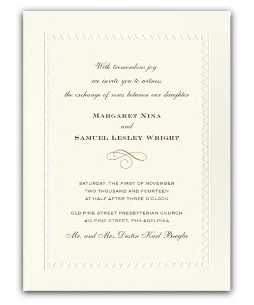 Wedding Invitations Ireland Wedding Stationery Neoclassical