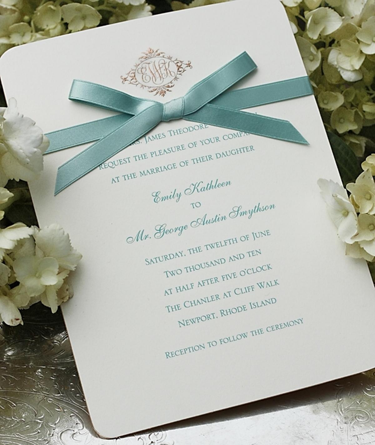 Thermography Invitation was beautiful invitation design